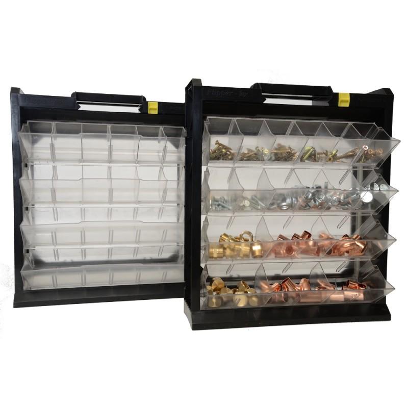 bo tier de rangement basculant flipper box posso en plastique. Black Bedroom Furniture Sets. Home Design Ideas