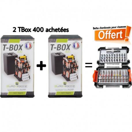 Cassetta degli attrezzi vuota TBox 400 Posso Euronegoce