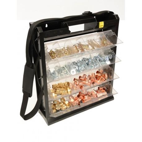 Boitier de Rangement en plastique Basculant Flipper Box Euronegoce Posso